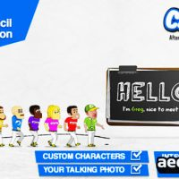 CARTOON PAPER PENCIL PRESENTATION (VIDEOHIVE)