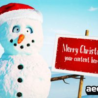 CHRISTMAS BOBBY – AFTER EFFECTS PROJECT (VIDEOHIVE)