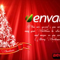 CHRISTMAS GREETINGS 3343432 (VIDEOHIVE)