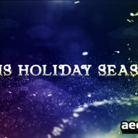 CHRISTMAS TITLES – AFTER EFFECTS PROJECT (VIDEOHIVE)