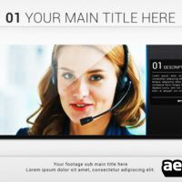 CLEAN SLIDESHOW – AFTER EFFECTS PROJECT (VIDEOHIVE)