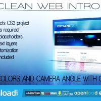 CLEAN WEB INTRO – AFTER EFFECTS PROJECT (VIDEOHIVE)