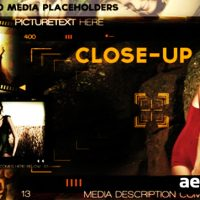 CLOSE-UP – AFTER EFFECTS PROJECT (VIDEOHIVE)