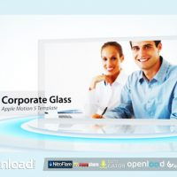CORPORATE GLASS DISPLAY – APPLE MOTION TEMPLATE (VIDEOHIVE)