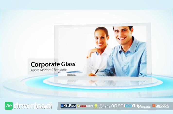 Corporate Glass Display