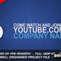 CORPORATE SOCIAL NETWORK IDENT – AFTER EFFECTS PROJECT (VIDEOHIVE)