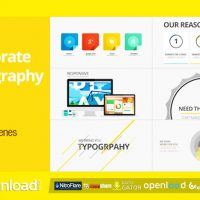 CORPORATE TYPOGRAPHY PACK – FREE AFTER EFFECTS PROJECT (VIDEOHIVE)