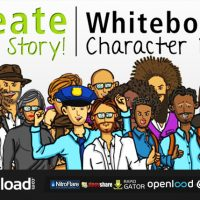 CREATE YOUR STORY WHITEBOARD CHARACTER PACK – VIDEOHIVE
