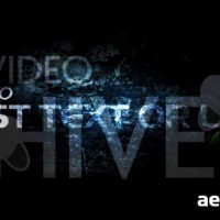 DARK ENERGY – AFTER EFFECTS PROJECT (VIDEOHIVE)