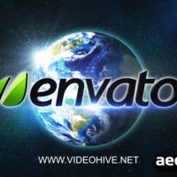 EARTH LOGO REVEAL – AFTER EFFECTS PROJECT (VIDEOHIVE)
