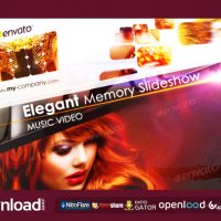 ELEGANT MEMORY SLIDESHOW – AFTER EFFECTS PROJECT (VIDEOHIVE)