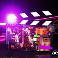 ELEGANT MOVIE CLAPPER – AFTER EFFECT PROJECT (VIDEOHIVE)