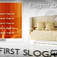 ELEGANT DISPLAYS – AFTER EFFECTS PROJECT (VIDEOHIVE)