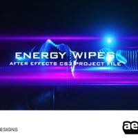 ENERGY WIPES – AFTER EFFECTS PROJECT (VIDEOHIVE)