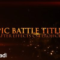 EPIC BATTLE TITLES – AFTER EFFECTS PROJECT (VIDEOHIVE)