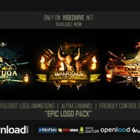EPIC LOGOS PACK – FREE AFTER EFFECTS PROJECT (VIDEOHIVE)