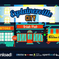 EXPLAINERVILLE CITY – AFTER EFFECTS PROJECT (VIDEOHIVE)