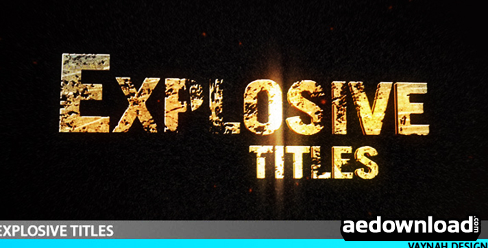 Explosive Titles Trailer HD