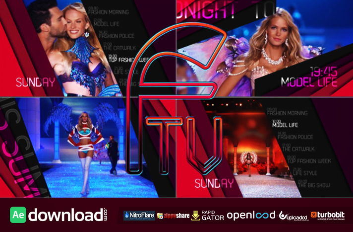 Ftv Passion For Fashion Broadcast Package Free After Effects Project Videohive Free
