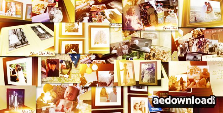 Family Photo Album Slideshow