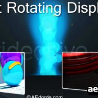 FAST ROTATING DISPLAYS – AFTER EFFECTS PROJECT (VIDEOHIVE)