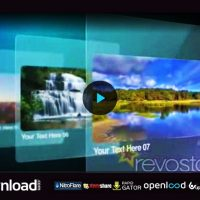 GLASS SLIDES 775488 – FREE AFTER EFFECTS PROJECT (REVOSTOCK)