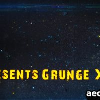 GRUNGE X2 – AFTER EFFECTS PROJECT (VIDEOHIVE)