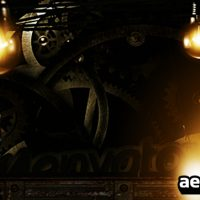 GEARS LOGO REVEAL – AFTER EFFECTS PROJECT (VIDEOHIVE)