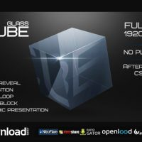 GLASS CUBE PROJECT – AFTER EFFECTS PROJECT (VIDEOHIVE)