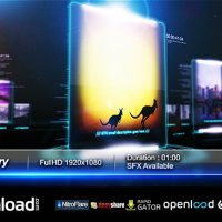 GLASS GALLERY – AFTER EFFECTS PROJECT (VIDEOHIVE)