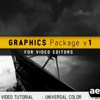 GRAPHICS PACKAGE V1 – AFTER EFFECTS PROJECT (VIDEOHIVE)