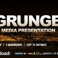 GRUNGE MEDIA PRESENTATION – FREE DOWNLOAD – VIDEOHIVE