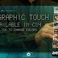 HOLOGRAPHIC TOUCH – AFTER EFFECTS PROJECT (VIDEOHIVE)