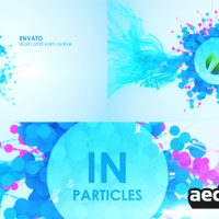 IN PARTICLES – AFTER EFFECTS PROJECT (VIDEOHIVE)