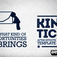 KINETIC 2 PROMO – AFTER EFFECTS TEMPLATE (BLUEFX)