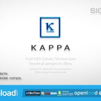 KAPPA WEBSITE PROMOTION FULL HD – AFTER EFFECTS PROJECT (VIDEOHIVE)