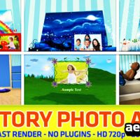KIDS STORY PHOTO ALBUM – AFTER EFFECTS PROJECT (VIDEOHIVE)
