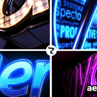 LED LOGO – AFTER EFFECTS PROJECT (VIDEOHIVE)