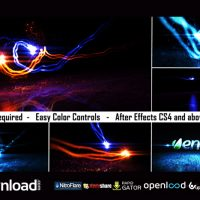 LOGO LIGHT REVEAL 2 – FREE AFTER EFFECTS PROJECT (VIDEOHIVE)