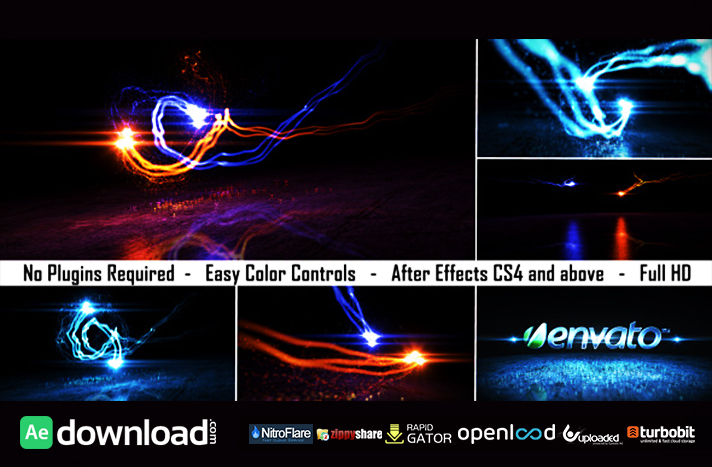 LOGO LIGHT REVEAL 2 - FREE AFTER EFFECTS PROJECT (VIDEOHIVE