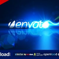 LIGHT SCRIBBLE LOGO – AFTER EFFECTS PROJECT (VIDEOHIVE)