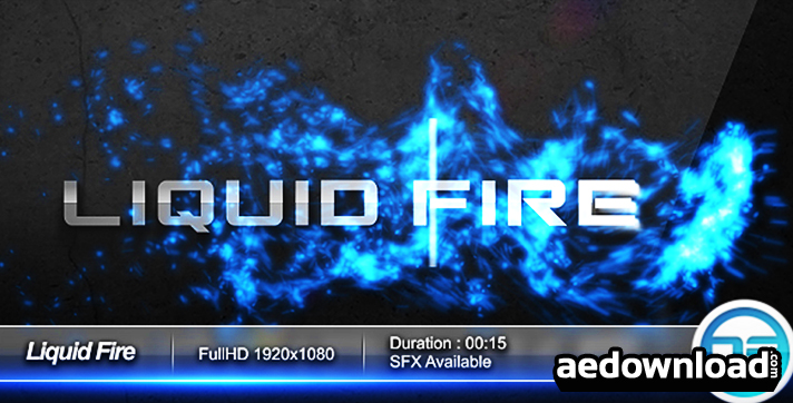 Liquid Fire Logo FullHD
