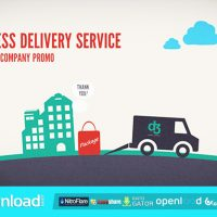 LOGISTICS COMPANY DELIVERY PROMO – AFTER EFFECTS PROJECT (VIDEOHIVE)