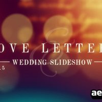 VIDEOHIVE LOVE LETTERS SLIDESHOW FREE DOWNLOAD