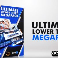 20 LOWER THIRDS MEGA PACK – AFTER EFFECTS TEMPLATE (BLUEFX)