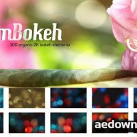 MOTIONVFX – MBOKEH – 100 ORGANIC 2K BOKEH ELEMENTS