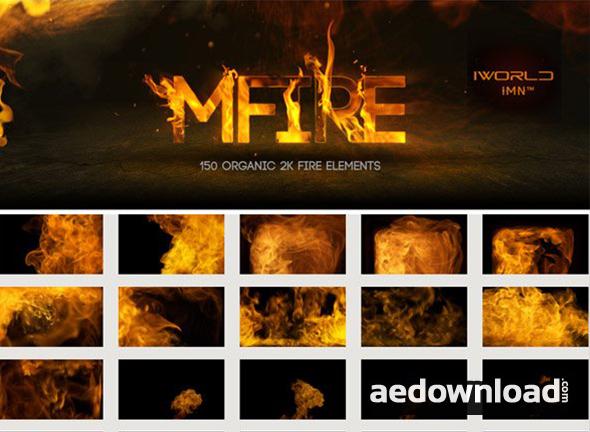 MOTIONVFX: MFIRE - 150 ORGANIC 2K FIRE ELEMENTS - Free After
