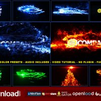 MAGICAL PARTICLES VORTEX LOGO REVEAL – AFTER EFFECTS PROJECT (VIDEOHIVE)