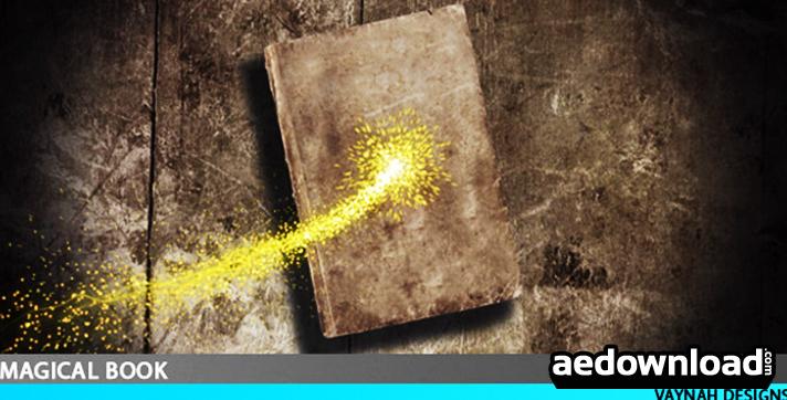 Magical book Intro HD