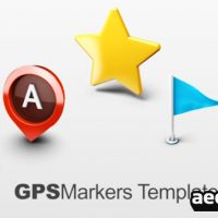 MAP MARKERS – AFTER EFFECT PROJECT (VIDEOHIVE)